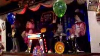 The Chuck E. Cheese Band Performing, Part 4