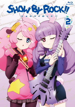 Show By Rock anime BDDVD Volume 2