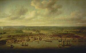 Woolwich Dockyard 1790