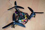 Tricopter dlxm detail1