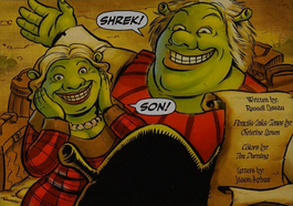 Shrek's mom and dad