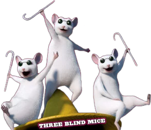 Image result for three blind mice