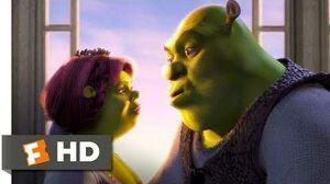 Shrek (2001) - True Love's True Kiss Scene (9-10) Movieclips
