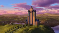Shrek 4-D Honeymoon Hotel