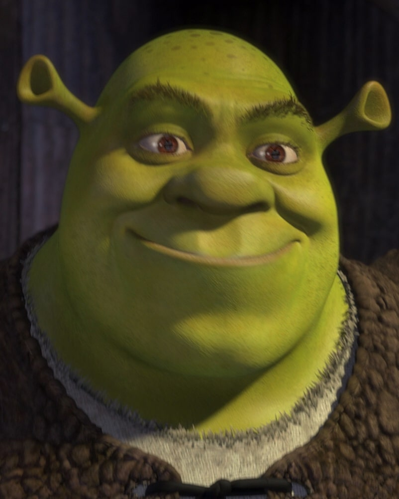 Shrek closeup