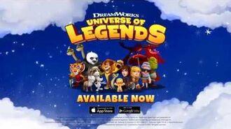 DreamWorks Universe of Legends - Worldwide Launch Trailer
