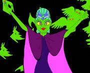 Green-skinned Queen Eartha