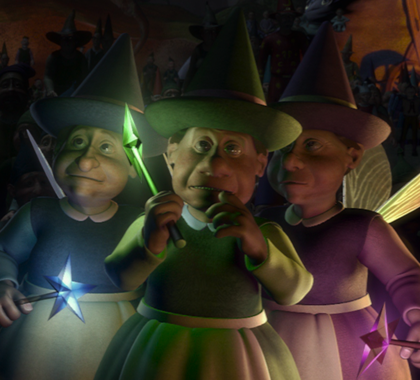 The Three Good Fairies Wikishrek Fandom