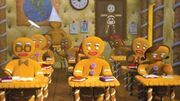 Gingy in school shrek 3 2007