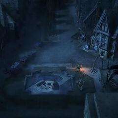 Улицы Дюлока в мультфильме Шрек: Страшилки