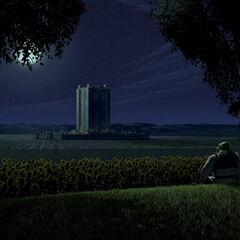 Дюлок ночью
