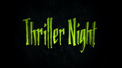 Thriller Night 2011 title card