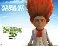 Rumpelstiltskin Shrek Forever Atref Poster