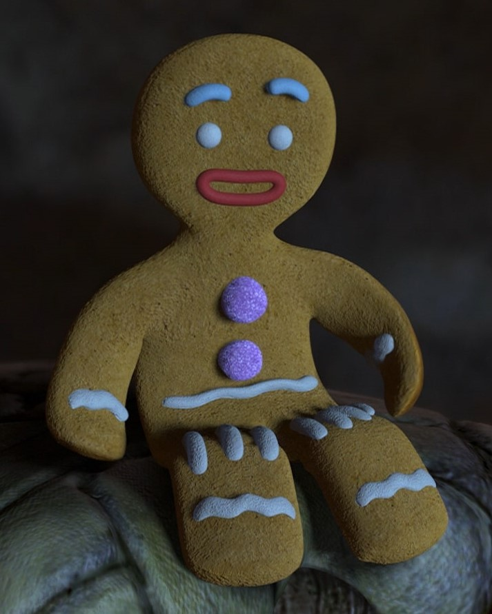 Gingerbread Man closeup