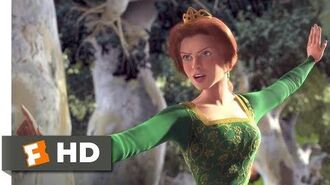Shrek (2001) - Princess vs Merry Men Scene (6-10) Movieclips