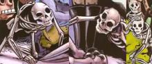 Shrek Skeletons