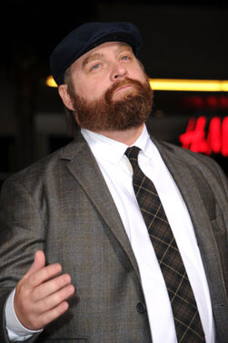 Zach Galifianakis Premiere Warner Bros Pictures O95EiMUZd ol