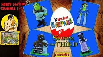 Shrek the Third 2007 💢 KINDER SURPRISE COLLECTION ST 271-280 Ü ei Shrek der Dritte Шрэк Третий