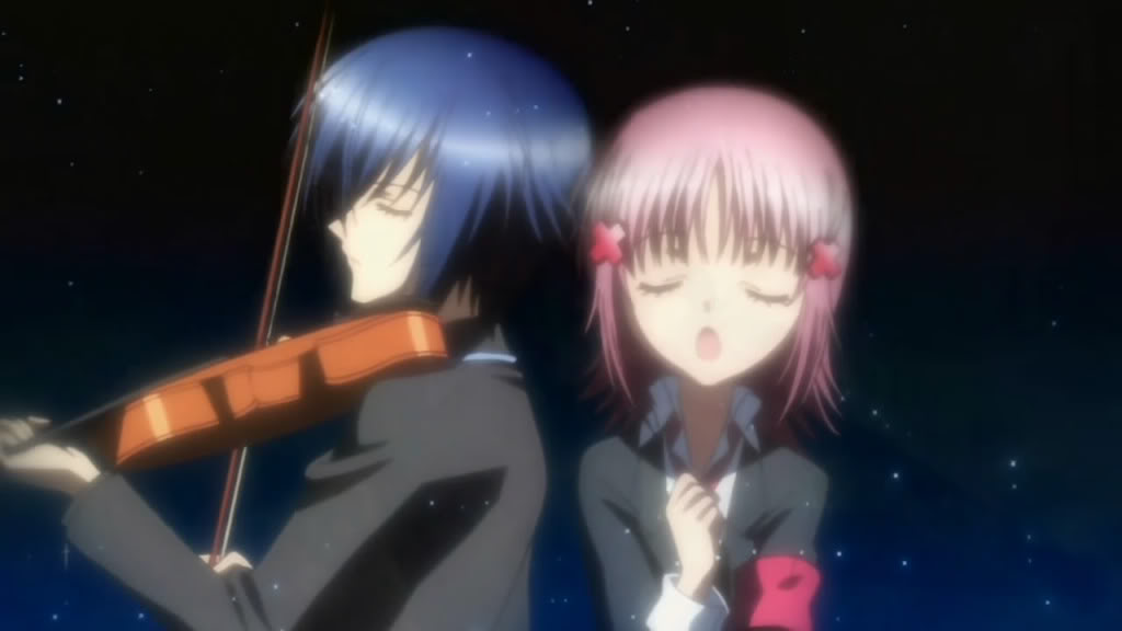 Episode 049 The Secret Of The Violin Notes Dancing In The Wind Shugo Chara Wiki Fandom