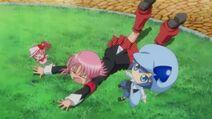 Amu tries to catch Miki - Episode 2