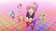 Amu with Shugo Chara