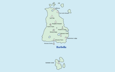Worldmap barbella