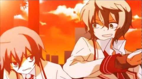 Hatsune Miku, Gumi, Kagamine Rin, Mayu - Common Heroes (在来ヒーローズ)