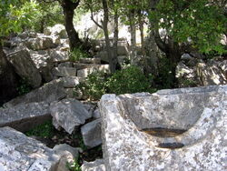 שרידי מקדש בהר סנאים (1)