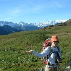 הליכה באיזורים גבוהים - Jochpass
