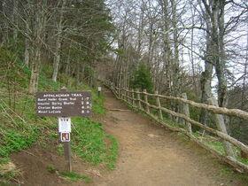 800px-Appalachian Trail at Newfound Gap