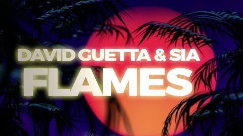 Video - David Guetta & Sia - Flames (Lyric Video) | Sia Wiki