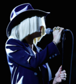 Sia performing live