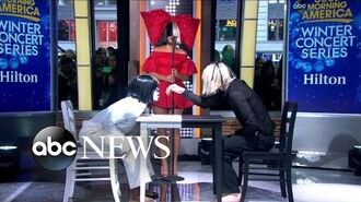 Sia Performs 'Reaper' Live on 'GMA'