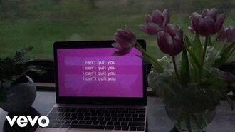 Cashmere Cat - Quit (Lyric Video) ft. Ariana Grande