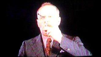 Alfred Langevin Smokes Through His Eye