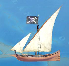 2004 Ship Pinnace