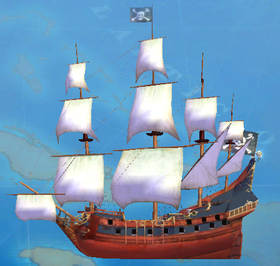 2004 Ship CombatGalleon