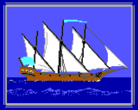 1987 Ship Barque