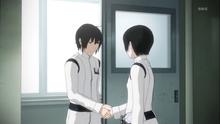 Nagate perfom 'handsake ritual' with Izana