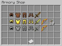 Armory shop gui