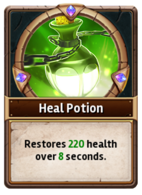 Card HealingPotion