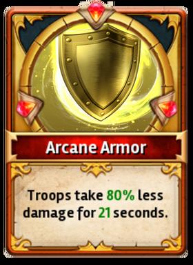 Card ArcaneArmor