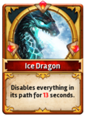 Card IceDragon