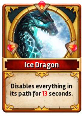 Card IceDragon