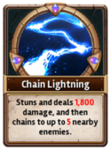 Card ChainLightning