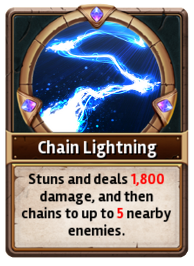 Card ChainLightning