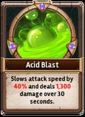 Card AcidBlast