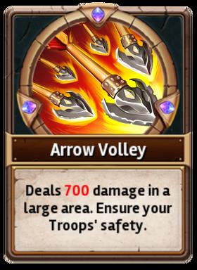 Card ArrowVolley