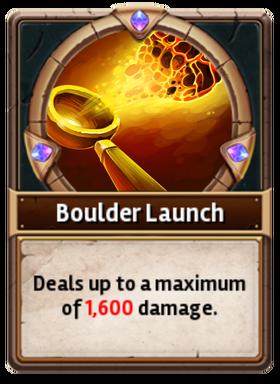Card BoulderLaunch
