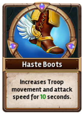 Card HasteBoots